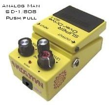 Analog.man SD1/808/Push/Pull mod
